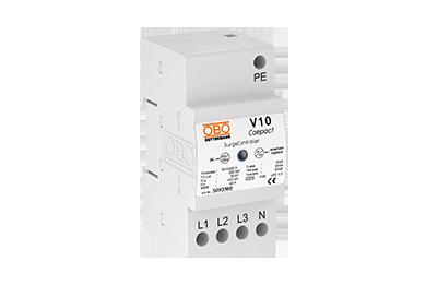 V10 COMPACT 255 (3 polig + NPE) 60kA