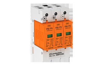 V50-B+C 3-PH600 DC Type I-II voor PV systemen tot 600V