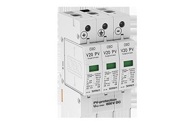 V20 -C 3-PH600 DC Type II voor PV systemen tot 600V