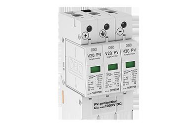 V20 -C 3-PH1000 DC Type II voor PV systemen tot 1000V