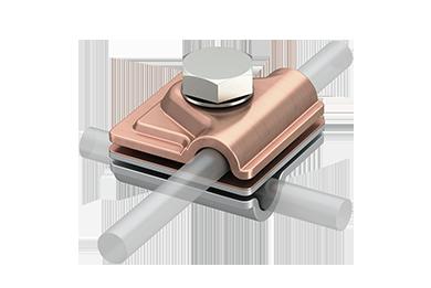 Multiklem Aluminium - Cu incl. zeskant bout