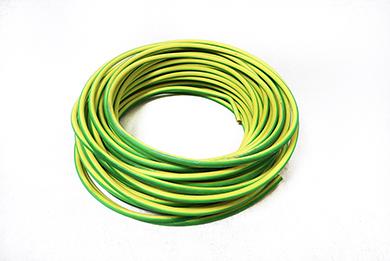 VD Kabel Halogeen vrij (groen/geel)