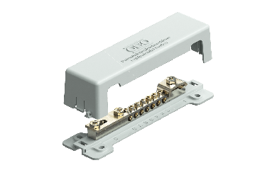 OBO Bettermann Potentiaalvereffeningsrail met kunststof voetplaat